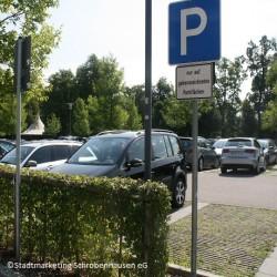 Parkplatz am Busbahnhof