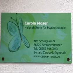 Carola Moser Heilpraktikerin für Psychotherapie