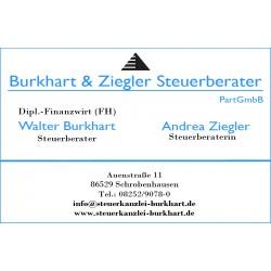 Steuerberater Burkhart & Ziegler PartGmbB